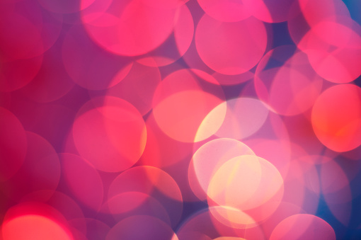 Polka Dot「Bokeh background」:スマホ壁紙(1)