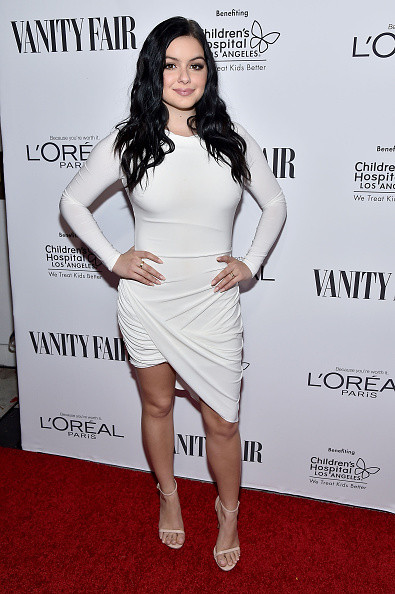 アリエル ウィンター「Vanity Fair, L'Oreal Paris, & Hailee Steinfeld Host DJ Night」:写真・画像(4)[壁紙.com]