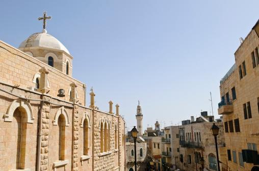 Bethlehem - West Bank「Church and Mosque in Bethlehem」:スマホ壁紙(13)