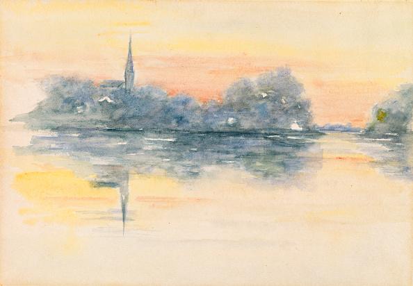 Bacon「Church And Lake」:写真・画像(12)[壁紙.com]