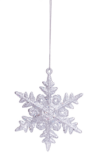 雪の結晶「シルバーの雪の結晶(XXL」:スマホ壁紙(8)
