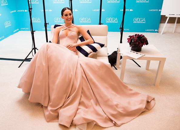Emmy Rossum「17th Costume Designers Guild Awards With Presenting Sponsor Lacoste - Green Room」:写真・画像(5)[壁紙.com]