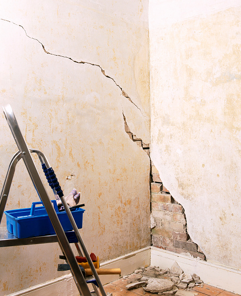 Insurance「Crack in the wall」:写真・画像(10)[壁紙.com]