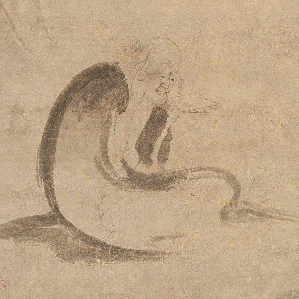 Circa 14th Century「Reading A Sutra By Moonlight」:写真・画像(9)[壁紙.com]