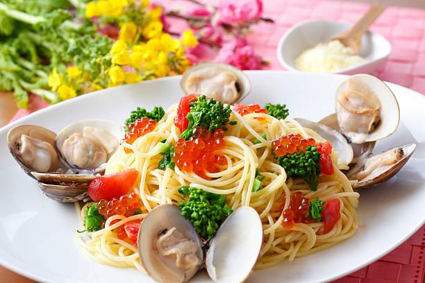 Seafood Pasta:スマホ壁紙(壁紙.com)
