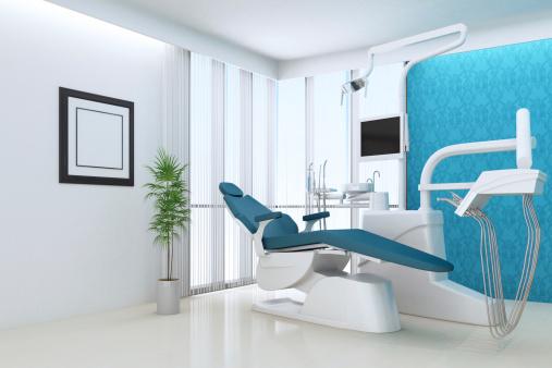 擬人化「モダンな歯のオフィス」:スマホ壁紙(4)