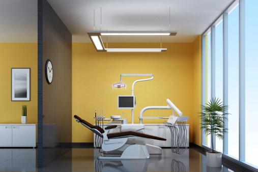 擬人化「モダンな歯のオフィス」:スマホ壁紙(16)