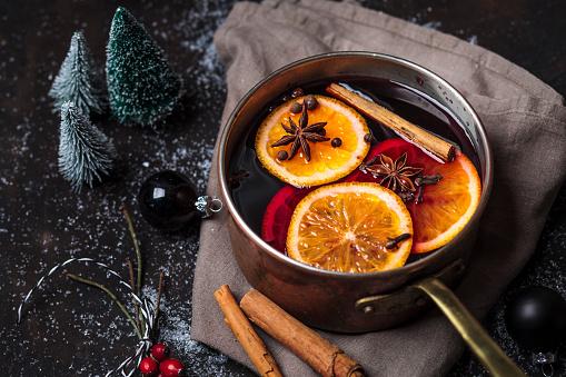 Christmas「Pot of mulled wine」:スマホ壁紙(5)