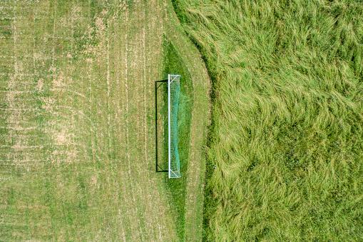 Goal Post「Soccer goal in the countryside」:スマホ壁紙(0)