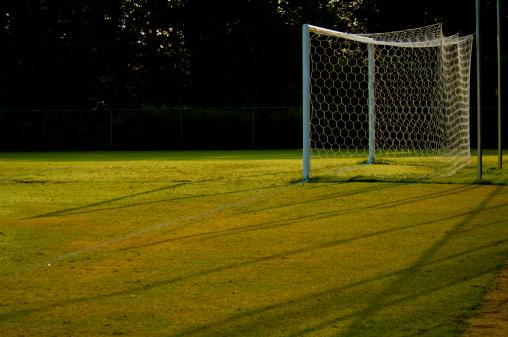 Goal Post「Soccer Goal and Soccer Net on Soccer Field during Soccer Game」:スマホ壁紙(17)