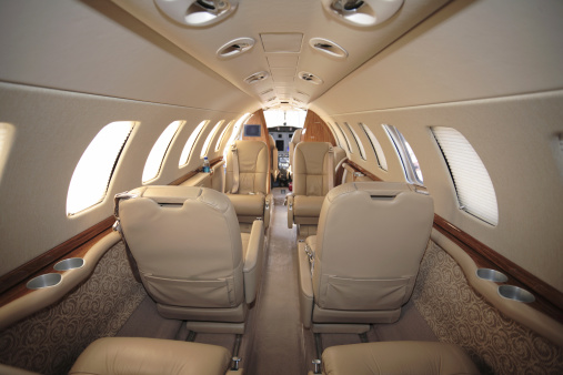 Fighter Plane「Business Jet Interior」:スマホ壁紙(18)