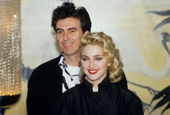 ジョージ・ハリスン「George Harrison And Madonna」:写真・画像(18)[壁紙.com]