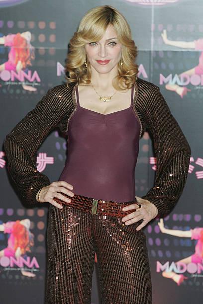 """Madonnna Promotes Her New Album """"'Confessions On A Dance Floor"""":ニュース(壁紙.com)"""