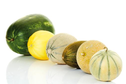 メロン「'Melons, close-up'」:スマホ壁紙(10)