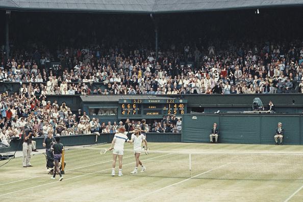 1981「Wimbledon Lawn Tennis Championship」:写真・画像(8)[壁紙.com]