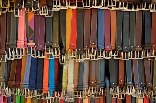 Belt「Hanging colorful leather belts」:スマホ壁紙(16)