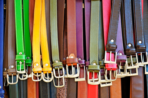 Belt「Hanging colorful leather belts at shop」:スマホ壁紙(18)