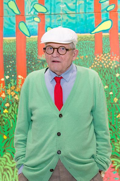 ヒューマンインタレスト「Artist David Hockney Unveils 'The Arrival of Spring' At Centre Georges Pompidou In Paris」:写真・画像(14)[壁紙.com]
