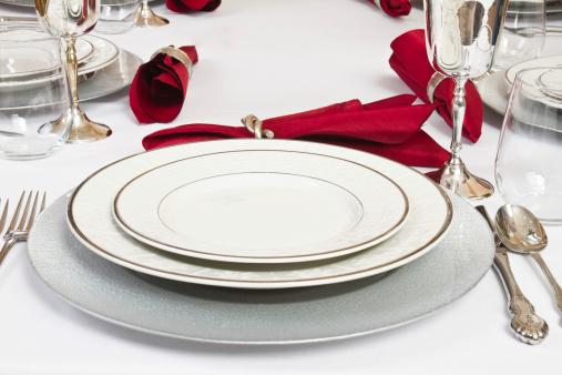 Silver Colored「Fancy Table Setting」:スマホ壁紙(14)