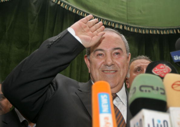Ayad Allawi「Supporters Of Former PM Allawi Celebrate In Baghdad」:写真・画像(5)[壁紙.com]