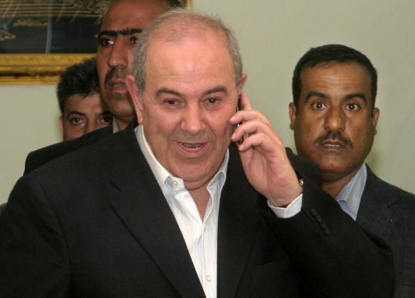 Ayad Allawi「Supporters of Former PM Allawi Celebrate in Baghdad」:写真・画像(4)[壁紙.com]