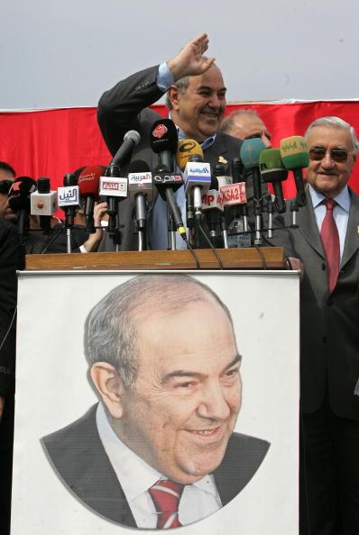 Ayad Allawi「Election Campaigns Intensify In Baghdad」:写真・画像(12)[壁紙.com]