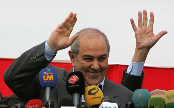 Ayad Allawi「Election Campaigns Intensify In Baghdad」:写真・画像(15)[壁紙.com]