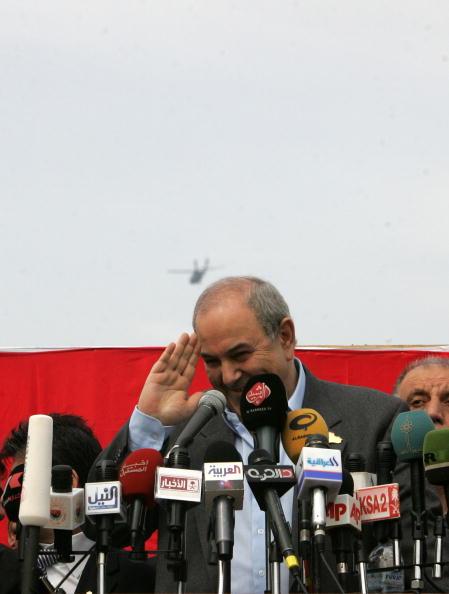Ayad Allawi「Election Campaigns Intensify In Baghdad」:写真・画像(14)[壁紙.com]