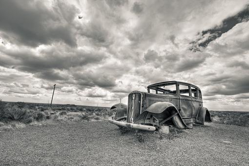 Rusty「Car Wreck」:スマホ壁紙(12)