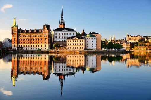 Gothic Style「Riddarholmen islet, Stockholm」:スマホ壁紙(8)