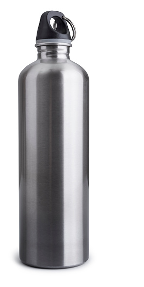 Funky「Stainless Steel Drink Bottle Isolated + Clipping Path」:スマホ壁紙(19)
