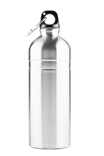 Steel「Stainless steel thermos bottle, isolated on white, clipping path」:スマホ壁紙(1)