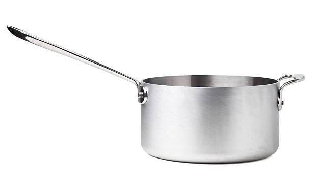 Stainless Steel Saucepan:スマホ壁紙(壁紙.com)