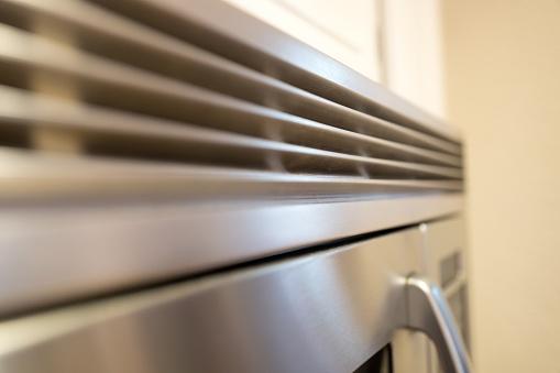 クローズアップ「Stainless Steel Microwave」:スマホ壁紙(18)