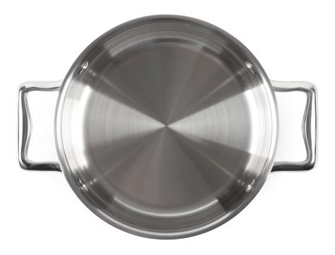 Metallic「Stainless steel Pan」:スマホ壁紙(13)