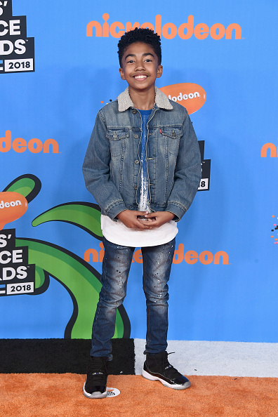 Double Denim「Nickelodeon's 2018 Kids' Choice Awards - Arrivals」:写真・画像(14)[壁紙.com]