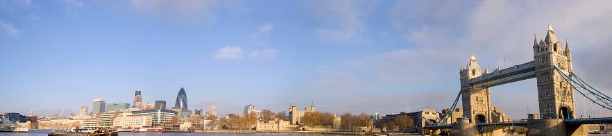 London Bridge - England「London panorama」:スマホ壁紙(9)