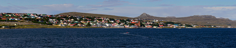 Falkland Islands「View of Port Stanley from the harbor」:スマホ壁紙(19)