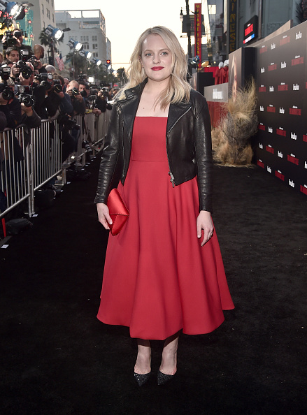 "Leather Jacket「Premiere Of Hulu's ""The Handmaid's Tale"" Season 2 - Red Carpet」:写真・画像(7)[壁紙.com]"
