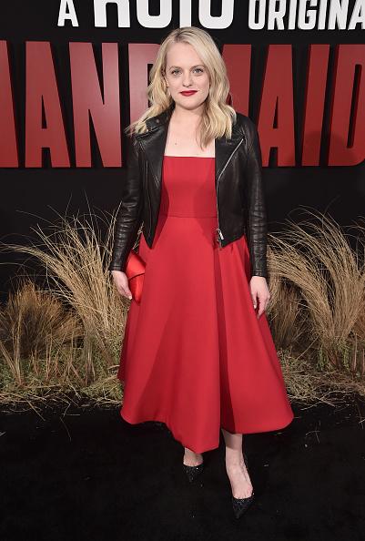 "Biker Jacket「Premiere Of Hulu's ""The Handmaid's Tale"" Season 2 - Red Carpet」:写真・画像(4)[壁紙.com]"