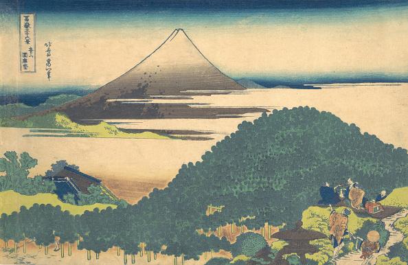 Mount Fuji「Cushion Pine At Aoyama (Aoyama Enza No Matsu)」:写真・画像(16)[壁紙.com]