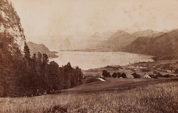 1880-1889「St. Gilgen」:写真・画像(3)[壁紙.com]