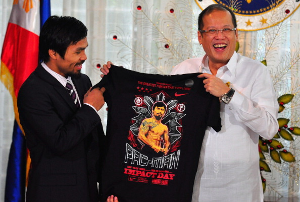 WBC「Manny Pacquiao Returns To Hero's Welcome In Manila」:写真・画像(16)[壁紙.com]