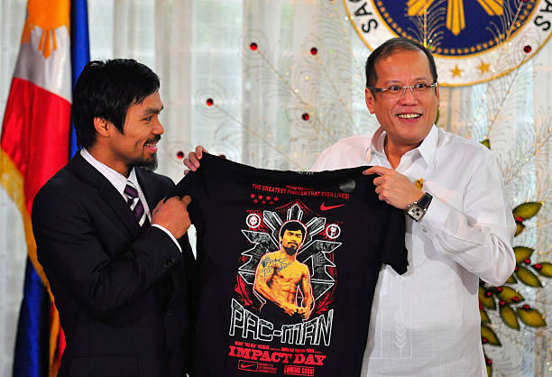 Manny Pacquiao Returns To Hero's Welcome In Manila:ニュース(壁紙.com)