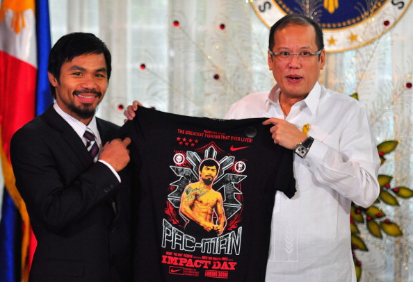 WBC「Manny Pacquiao Returns To Hero's Welcome In Manila」:写真・画像(17)[壁紙.com]