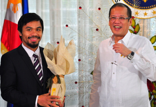 WBC「Manny Pacquiao Returns To Hero's Welcome In Manila」:写真・画像(18)[壁紙.com]