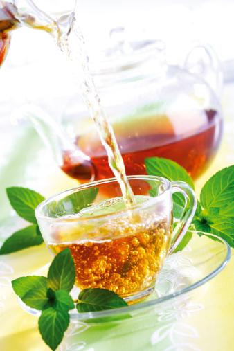 Teapot「Mint tea」:スマホ壁紙(8)