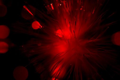 Back Lit「Abstract red lights」:スマホ壁紙(5)