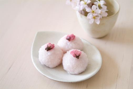 桜「Sakura mochi」:スマホ壁紙(18)