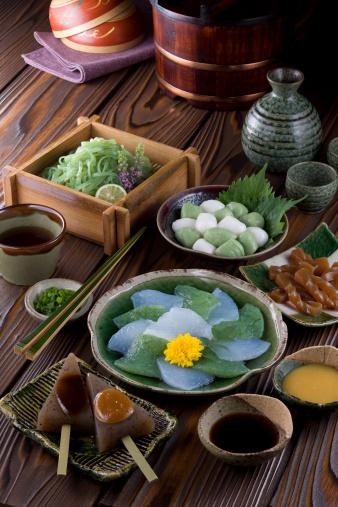 Sake「Dishes of Konnyaku」:スマホ壁紙(5)